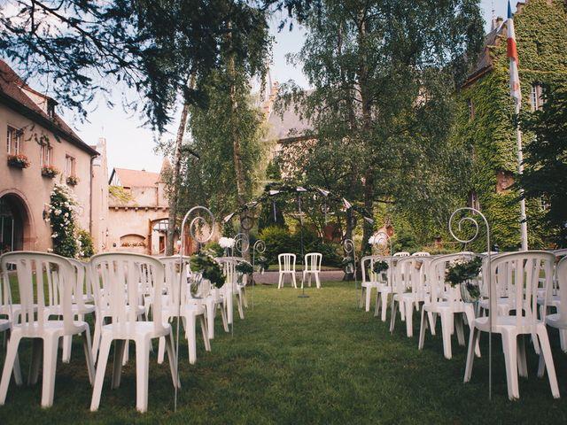 Le mariage de Sébastien et Coralie à Kientzheim, Haut Rhin 31