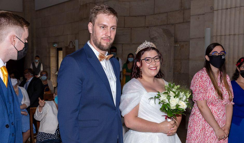 Le mariage de Anthony et Louise-Eugénie à Dole, Jura