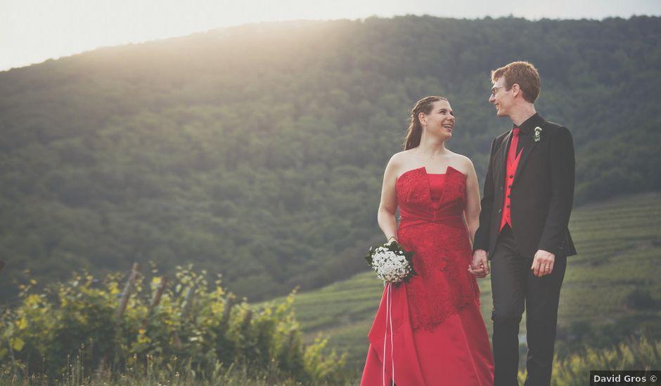 Le mariage de Sébastien et Coralie à Kientzheim, Haut Rhin