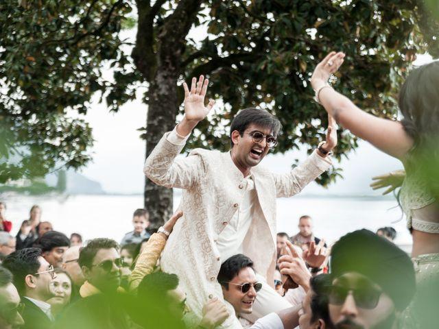 Le mariage de Aniket et Nama à Montreux, Vaud 11
