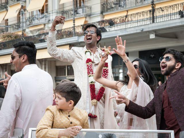 Le mariage de Aniket et Nama à Montreux, Vaud 19