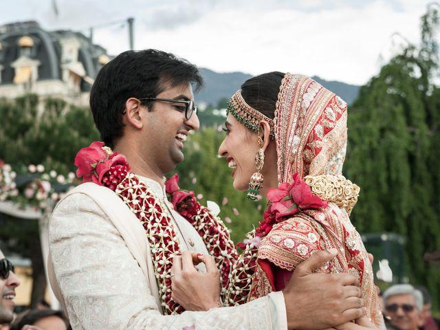 Le mariage de Aniket et Nama à Montreux, Vaud 24