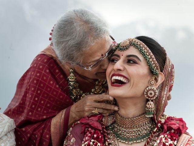 Le mariage de Aniket et Nama à Montreux, Vaud 1
