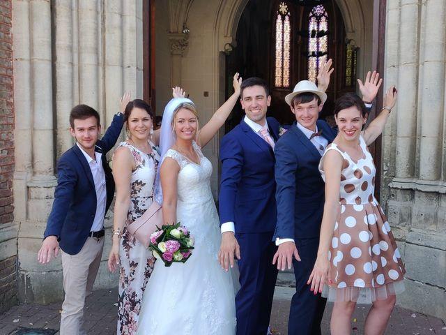Le mariage de Sylvain et Pauline à Flesselles, Somme 2