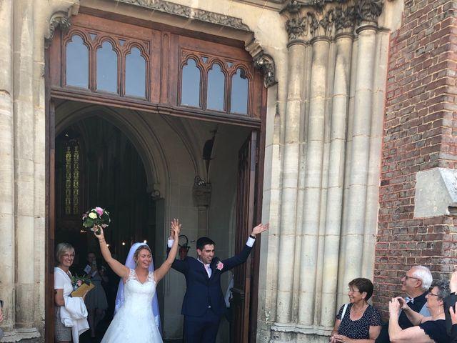 Le mariage de Sylvain et Pauline à Flesselles, Somme 5