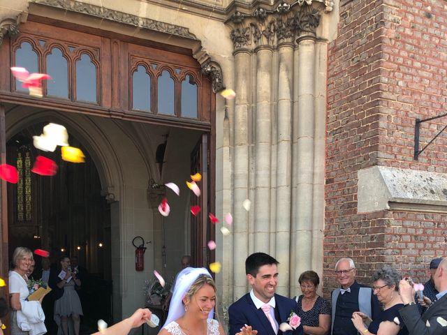 Le mariage de Sylvain et Pauline à Flesselles, Somme 6