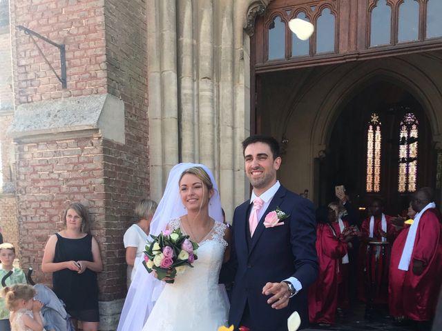 Le mariage de Sylvain et Pauline à Flesselles, Somme 7