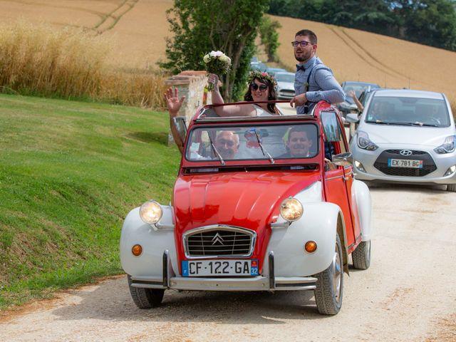 Le mariage de Jonathan et Camille à L'Isle-Jourdain, Gers 17