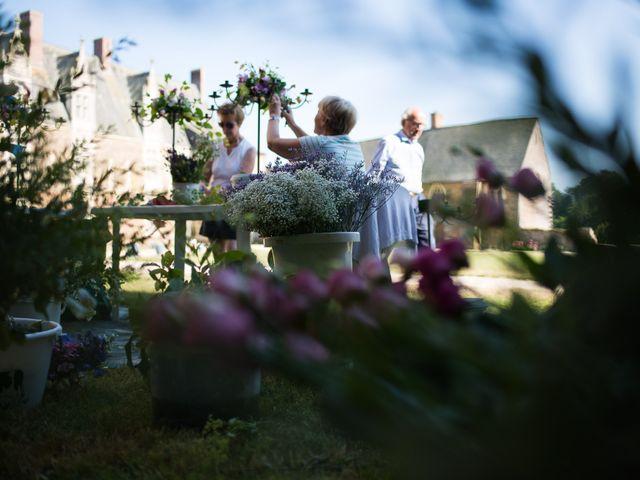 Le mariage de Jérôme et Marguerite à La Chapelle-Glain, Loire Atlantique 1