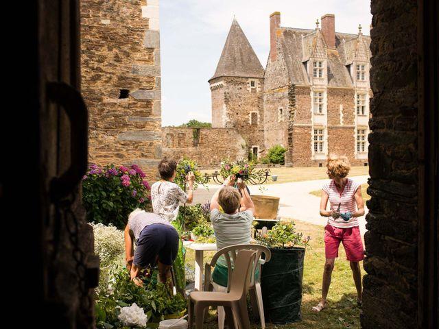 Le mariage de Jérôme et Marguerite à La Chapelle-Glain, Loire Atlantique 14