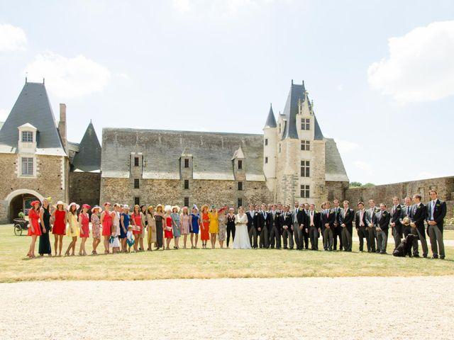 Le mariage de Jérôme et Marguerite à La Chapelle-Glain, Loire Atlantique 49