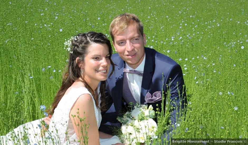 Le mariage de Grégoire et Julie à Allouville-Bellefosse, Seine-Maritime