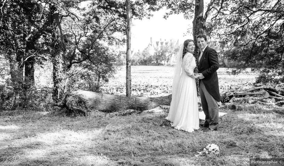 Le mariage de Jérôme et Marguerite à La Chapelle-Glain, Loire Atlantique