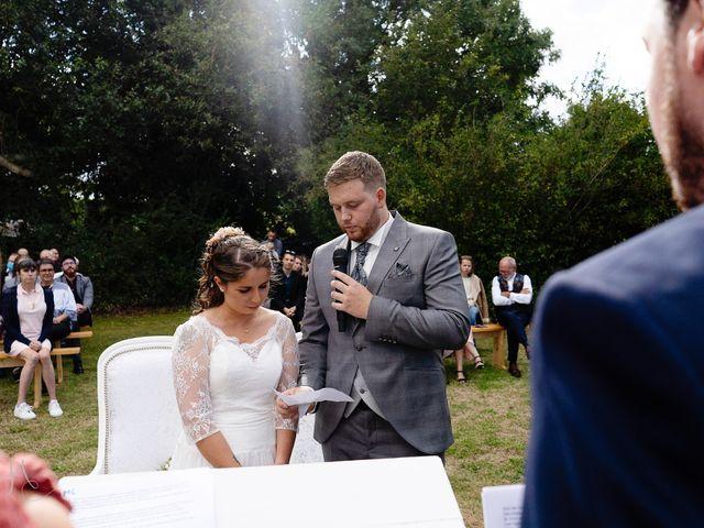 Le mariage de Bastien et Charline à Bourbriac, Côtes d'Armor 6