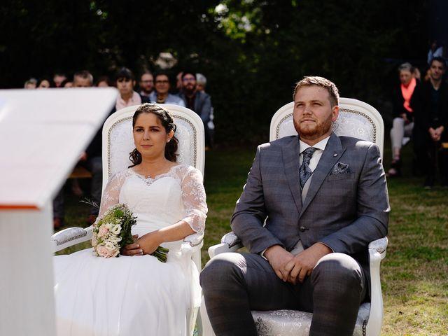 Le mariage de Bastien et Charline à Bourbriac, Côtes d'Armor 8