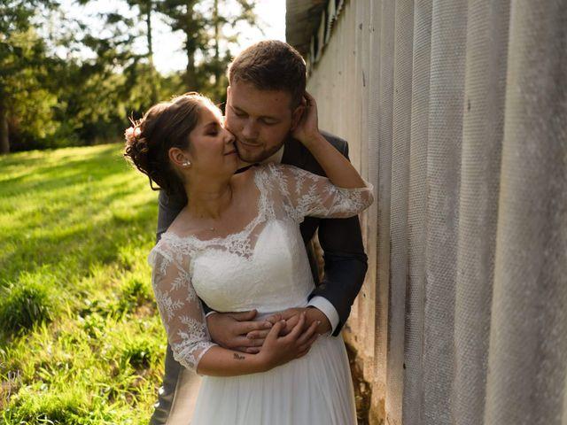 Le mariage de Bastien et Charline à Bourbriac, Côtes d'Armor 13