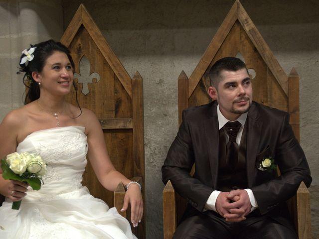Le mariage de Alexandre  et Noëmie  à Nouaillé-Maupertuis, Vienne 11