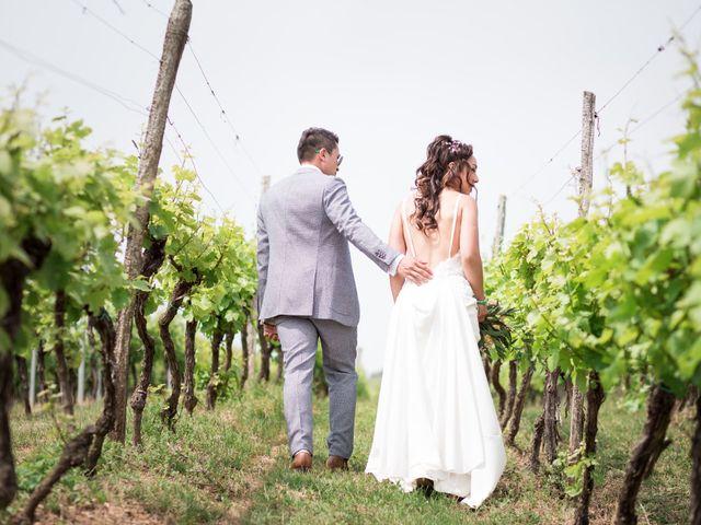 Le mariage de Gaël et Lynda à Vendenheim, Bas Rhin 3