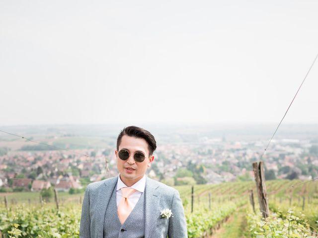 Le mariage de Gaël et Lynda à Vendenheim, Bas Rhin 6