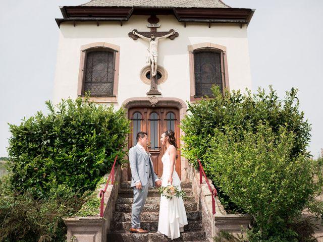 Le mariage de Gaël et Lynda à Vendenheim, Bas Rhin 7
