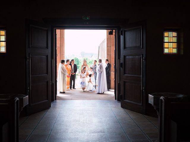 Le mariage de Gaël et Lynda à Vendenheim, Bas Rhin 14