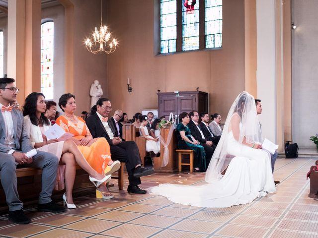 Le mariage de Gaël et Lynda à Vendenheim, Bas Rhin 15
