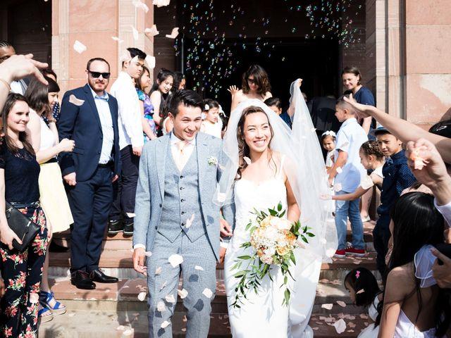 Le mariage de Gaël et Lynda à Vendenheim, Bas Rhin 20