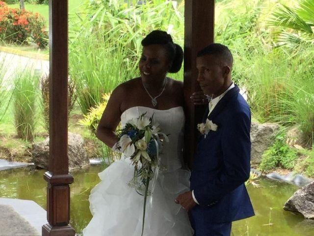 Le mariage de Jean-Pierre et Delphine à Sainte-Luce, Martinique 1