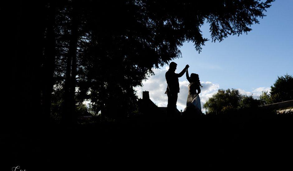 Le mariage de Bastien et Charline à Bourbriac, Côtes d'Armor