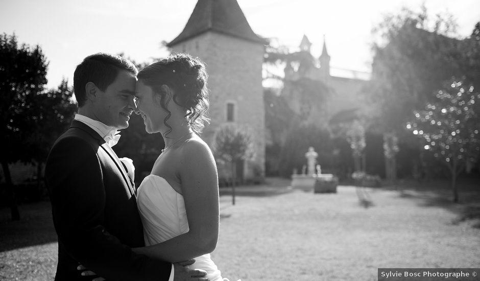 Le mariage de Simon et Claire à Villefranche-de-Rouergue, Aveyron