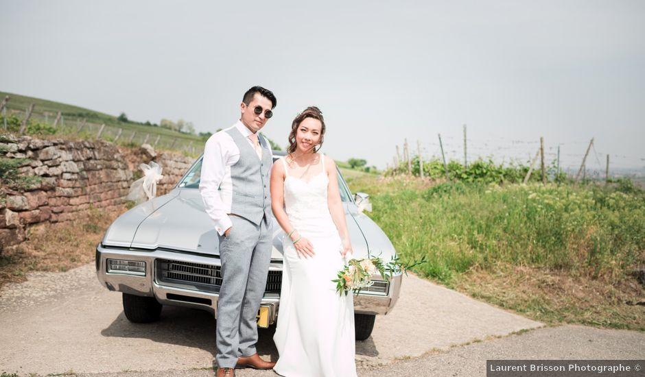 Le mariage de Gaël et Lynda à Vendenheim, Bas Rhin