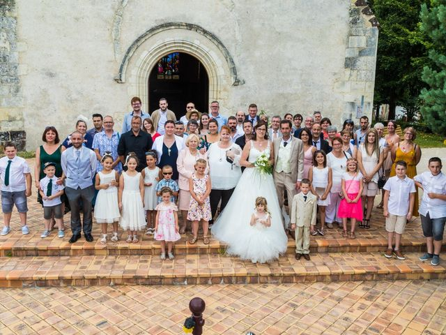 Le mariage de Bertrand et Audrey à Pierrefitte-sur-Sauldre, Loir-et-Cher 62