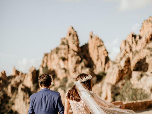 Le mariage de Benjamin et Alizée à Piana, Corse 1