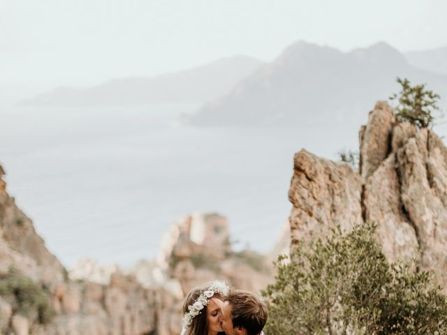Le mariage de Benjamin et Alizée à Piana, Corse 28