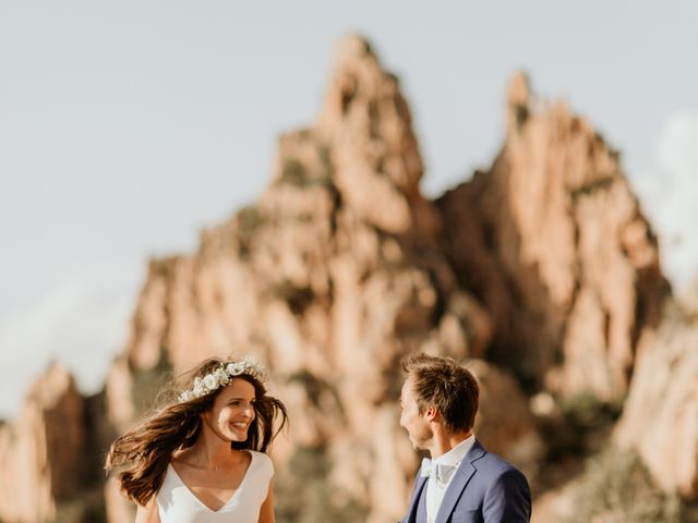 Le mariage de Benjamin et Alizée à Piana, Corse 2