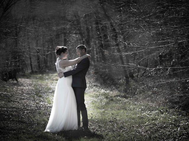 Le mariage de Julien et Audrey à Larnaud, Jura 2