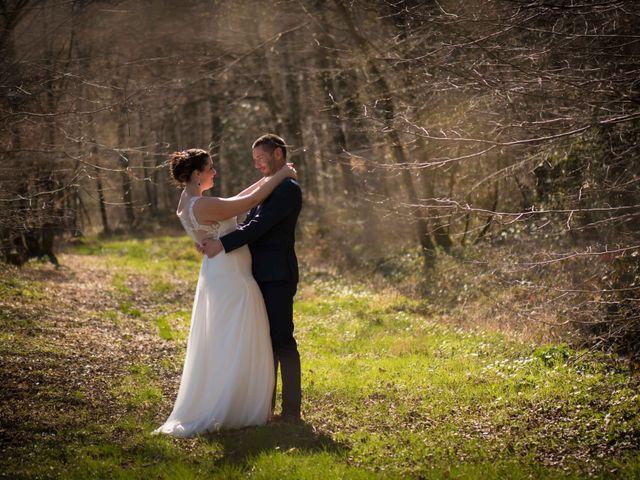 Le mariage de Julien et Audrey à Larnaud, Jura 7