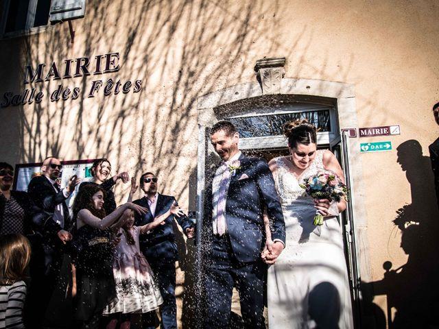 Le mariage de Julien et Audrey à Larnaud, Jura 15
