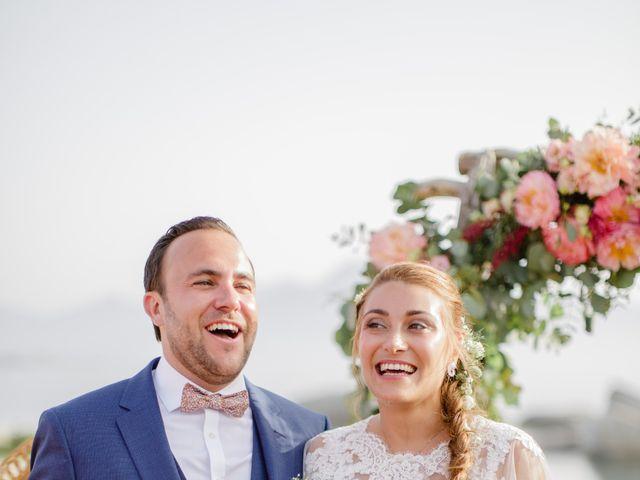 Le mariage de Victor et Caroline à Lumio, Corse 28