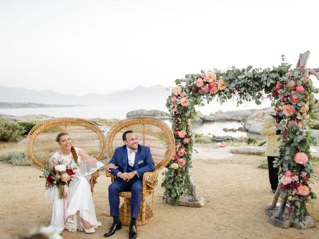 Le mariage de Victor et Caroline à Lumio, Corse 34