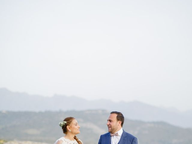 Le mariage de Victor et Caroline à Lumio, Corse 36
