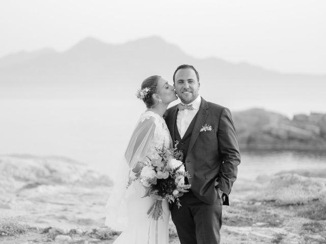 Le mariage de Victor et Caroline à Lumio, Corse 38