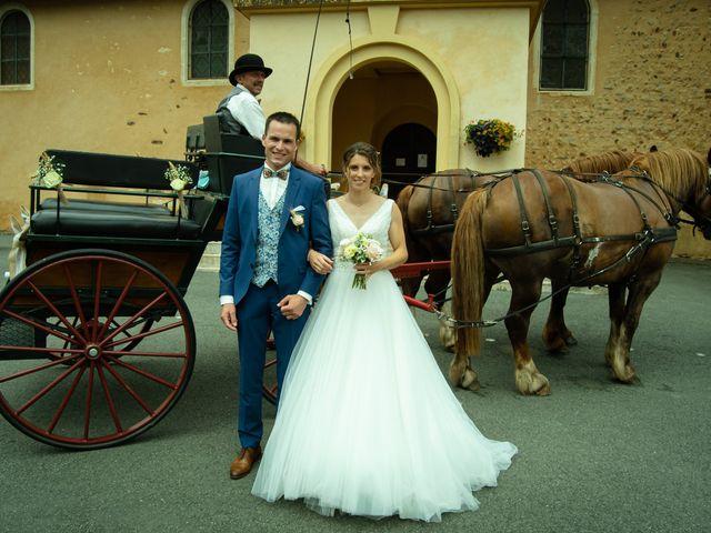 Le mariage de Maxime et Emma à Domfront-en-Champagne, Sarthe 16