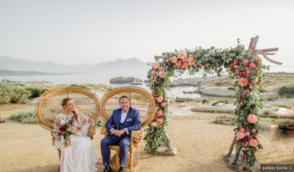 Le mariage de Victor et Caroline à Lumio, Corse