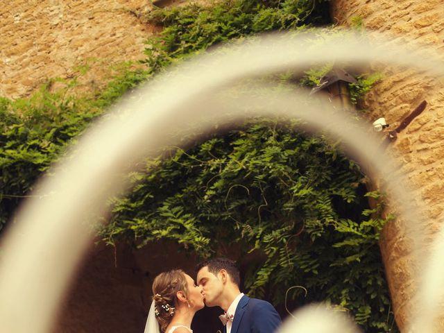 Le mariage de Andréa et Anne à Lacenas, Rhône 1