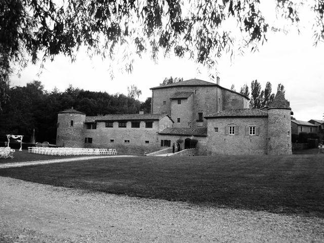 Le mariage de Andréa et Anne à Lacenas, Rhône 10