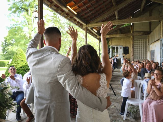 Le mariage de Benjamin et Virginie à Ceyzériat, Ain 13