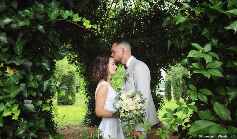 Le mariage de Benjamin et Virginie à Ceyzériat, Ain