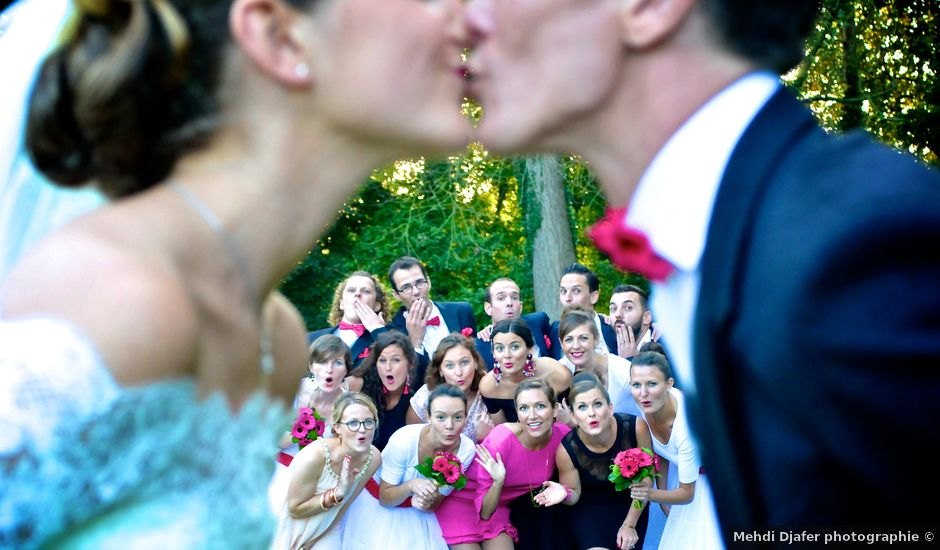 Le mariage de Adrien et Magali à Marcq-en-Baroeul, Nord