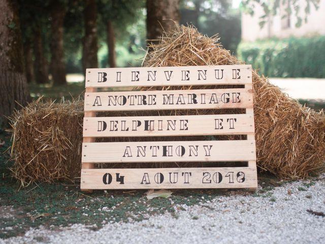 Le mariage de Anthony et Delphine à Arc-en-Barrois, Haute-Marne 1